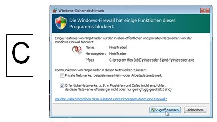 Firewallabfrage