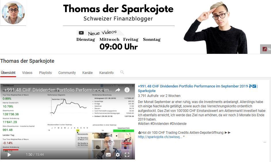 Sparkojote YouTube
